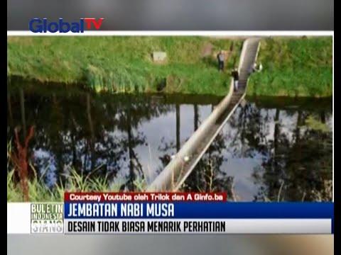 Sejumlah Arsitektur membuat jembatan Nabi Musa di Belanda - BIS 27/06