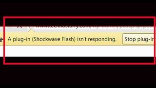 how to fix shockwave flash plug-in isn't responding-shockwave flash plugin crash