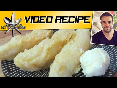 Deep Fried Bananas (Pisang Goreng) - Video Recipe