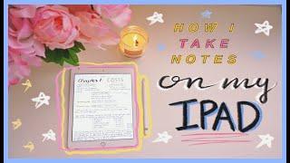 ✏️ TRÂN DÙNG IPAD ĐỂ TAKE NOTES NHƯ THẾ NÀO ✨ Say bye to giấy & đồ dùng học tập nha 😏 | Diane Le