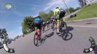 Old Guys Perfecting a Leadout