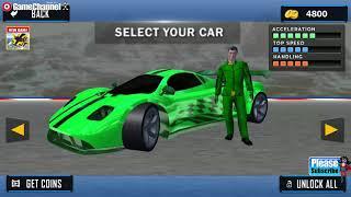 Impossible Car Crash Stunts Car Racing Game / Android Gameplay Video #3