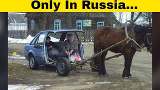 Hilarious and WTF Pictures From Russia!
