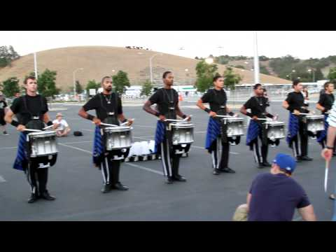 Blue Devils Drumline 2012 in the lot