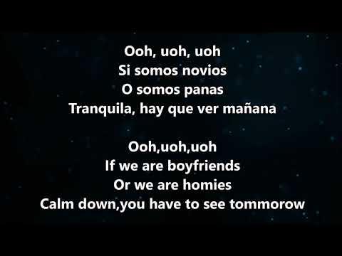 Enrique Iglesias ft. Bad Bunny - El Baño - Letra / Lyrics (English and Greek Lyrics)