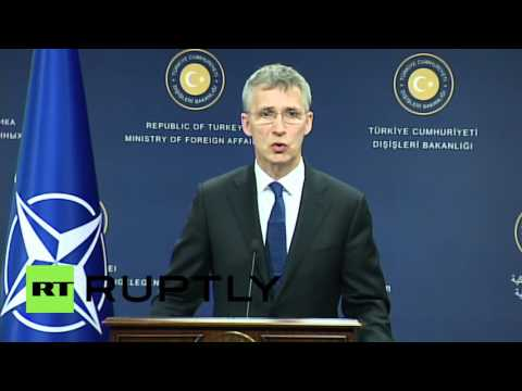 Turkey: NATO's Stoltenberg says plan to limit refugee flow working