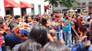 Transformando fronteras - Flashmob