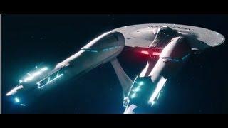 Star Trek Into Darkness Opening Enterprise Take-Off Scene - 1080p HD