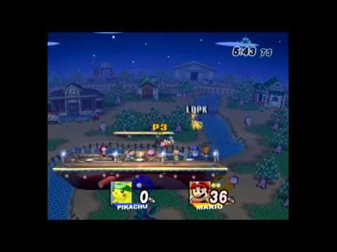 Boss (Mario) vs. Legendary Pikachu (Pikachu) HERB 2