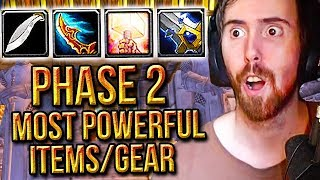 Asmongold Amazed By Classic WoW PHASE 2 Most Powerful Items & Gear - Punkrat