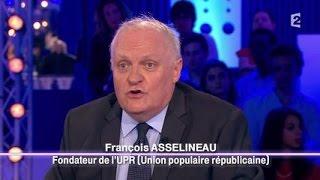 François Asselineau de l'Union Populaire Républicaine - On n'est pas couché 20 septembre 2014 #ONPC