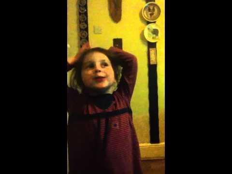 Heidi singing super marc albrighton :) (sister)
