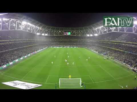Alternative Angle of Shane Duffy's Goal | Ireland v Denmark