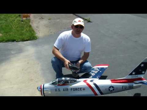 Turbine RC F-86 Sabre Jet