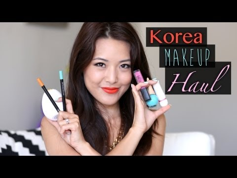 HAUL: Korean Makeup!