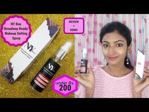 *NEW* NY Bae Broadway Ready Makeup Fixer || Review+Demo || Its makeover tym