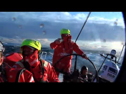 The first 24 hours - Volvo Ocean Race 2011-12