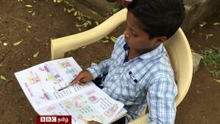 ஆகாஷ் : பாலியல் வன்முறைக்கு எதிராக போராடும் 8 வயது சிறுவன்