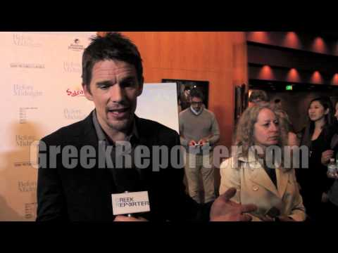 Ethan Hawke on Greece &