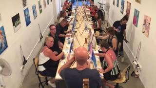 Arte Bar - Barcelona's Premier Painting and Wine Studio!