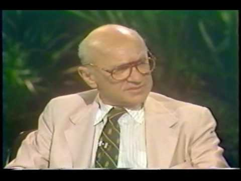 Milton Friedman on Donahue 1979 (2/5)