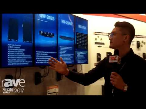 ISE 2017: Avlink Features TV Wall Controller