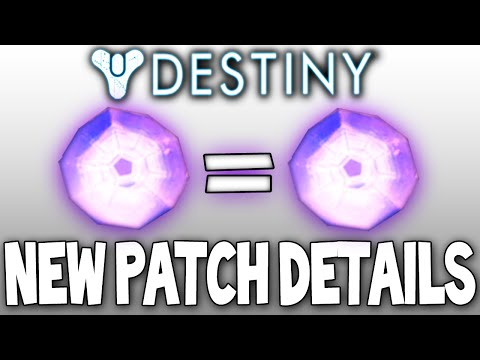 Destiny: NEW PATCH COMING (Next Week) & ITS GOOD!! (All Update Information) Oct 2014