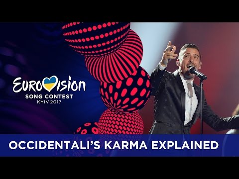 Occidentali's Karma explained by Francesco Gabbani