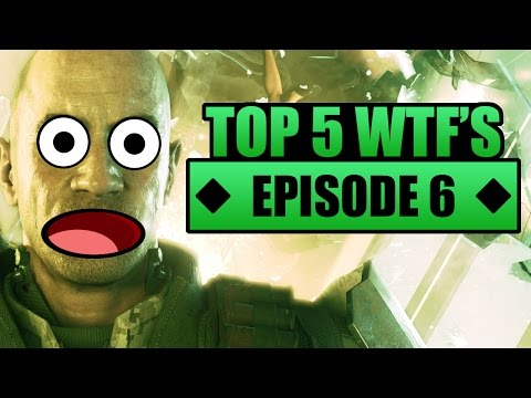 Call of Duty Top 5 WTF Moments & Glitches - Funny Glitch Glitch & Awesome Dart Play