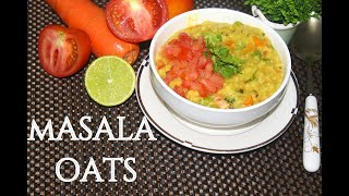 Quick Masala Oats Recipe|| Most Healthy Oats Breakfast Recipe For Weight Loss||S4 KITCHEN