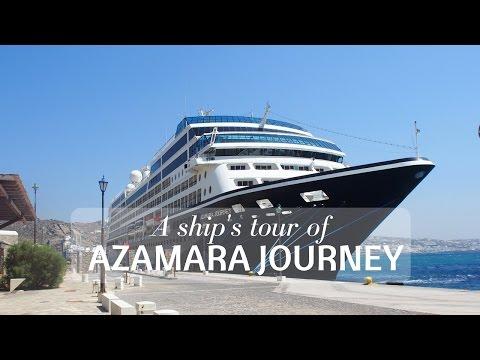 A Tour of Azamara Journey - with Azamara Club Cruises