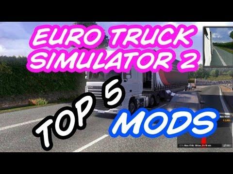 TOP 5 Mods para Euro Truck Simulator 2; Vamos Melhorar o Jogo !!! - PARTE I