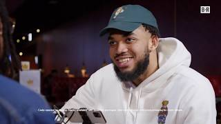 Karl-Anthony Towns takes his game on the go with #NBA2K20