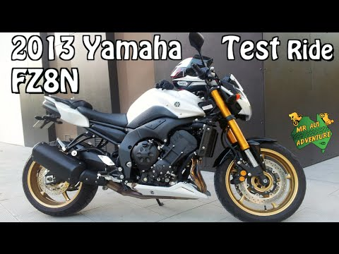 2013 Yamaha FZ8N Bike Review & Test Ride