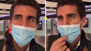 video: Watch: Tourist lands at Heathrow says he's sick and didn't know about UK quarantine