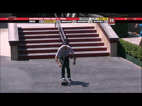 X Games 17: Nyjah Huston takes Gold in Men's Skateboard Street Final