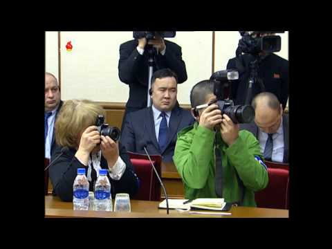 US citizen detained in North Korea gives press conference - final statement