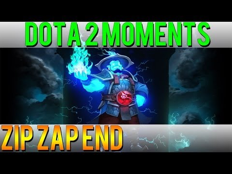 Dota 2 Moments - Zip Zap End