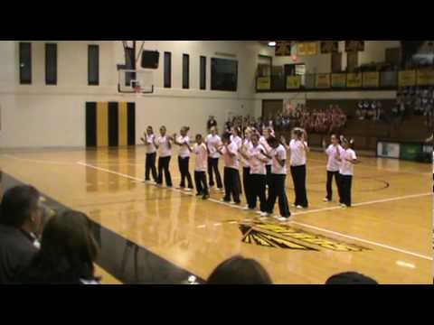 Lakewood middle School hip-hop routine