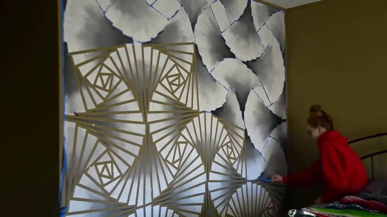 Декорирование стен своими руками мастер класс 35