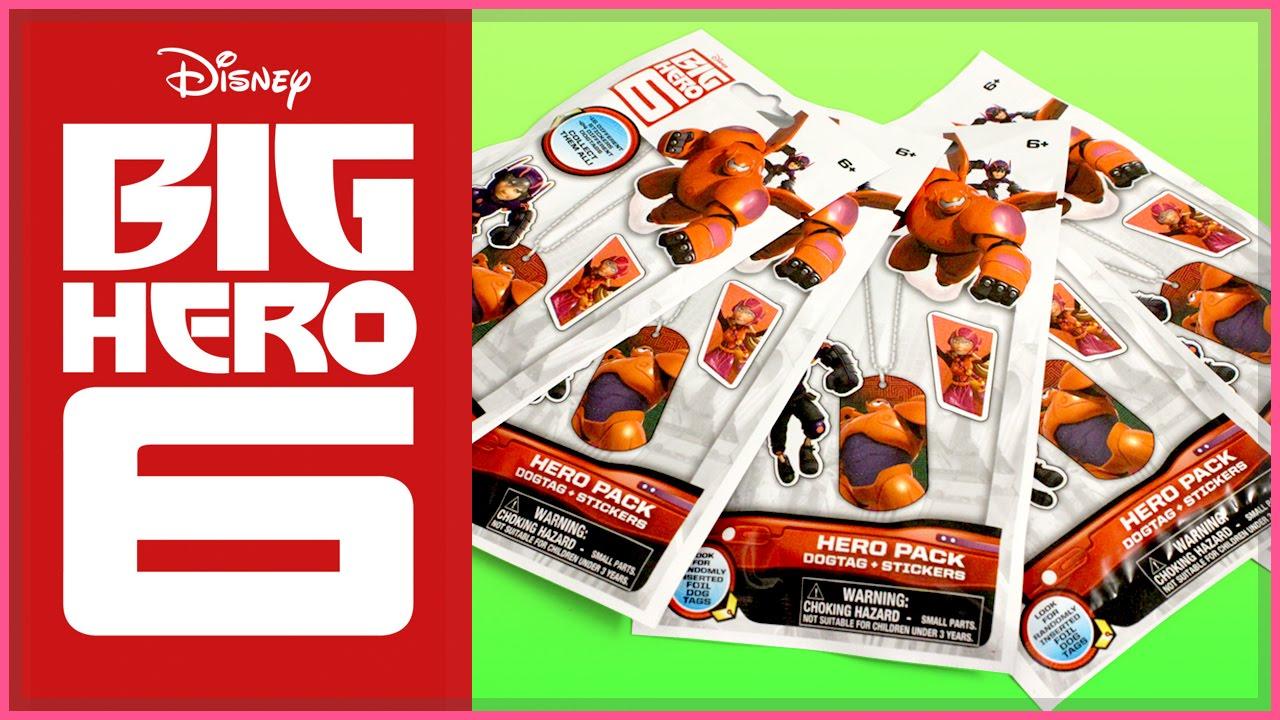 Adventure Time Big Hero 6 Big Hero 6 Dog Tag Blind Bags