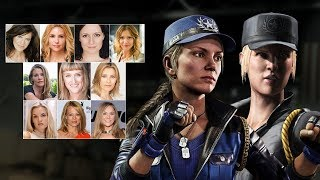 Comparing The Voices - Sonya Blade (Updated)