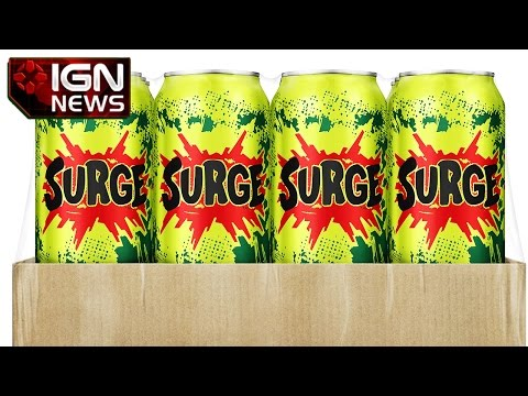 Back by Popular Demand, Surge Soda Returns - IGN News
