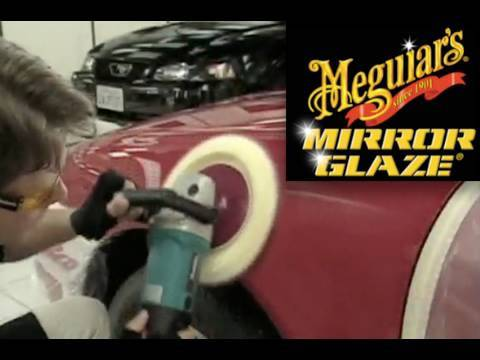 How To Meguiar s Professional Mirror Glaze Training Video