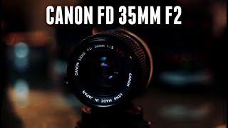 Vintage Lens Review: Canon FD 35mm f2