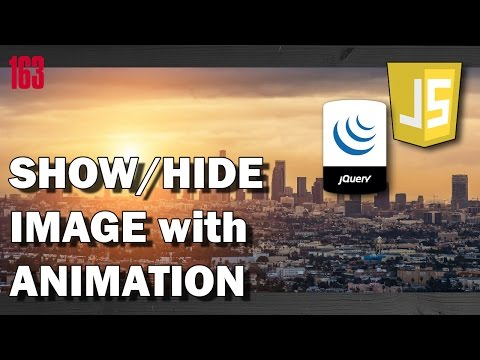 JQUERY Show/Hide image - Animation with jQuery library