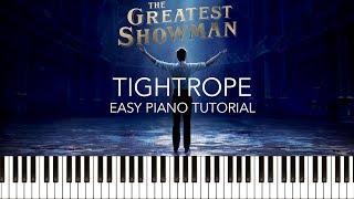 download lagu The Greatest Showman - Tightrope Easy Piano Tutorial & gratis
