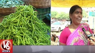 Price Of Vegetables Slightly Falls In Hyderabad