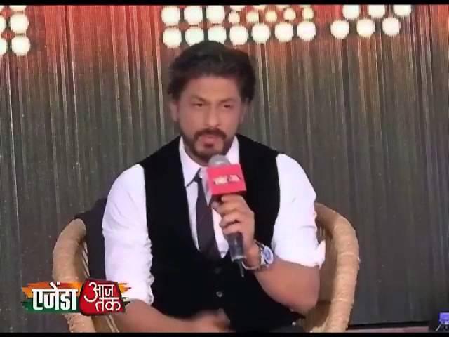 Agenda Aaj Tak 2013:Shahrukh praise Hina Rabbani Khar's Beauty
