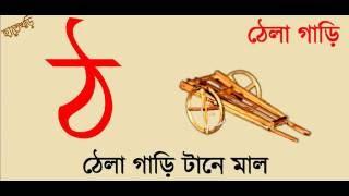 Bangla banjonborno sobi dekhe pori বাংলা বর্ণমালা